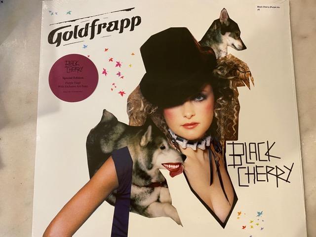 (全新未拆封)Goldfrapp 冰金樂團-Black Cherry 黑色櫻桃 限量紫膠 黑膠LP