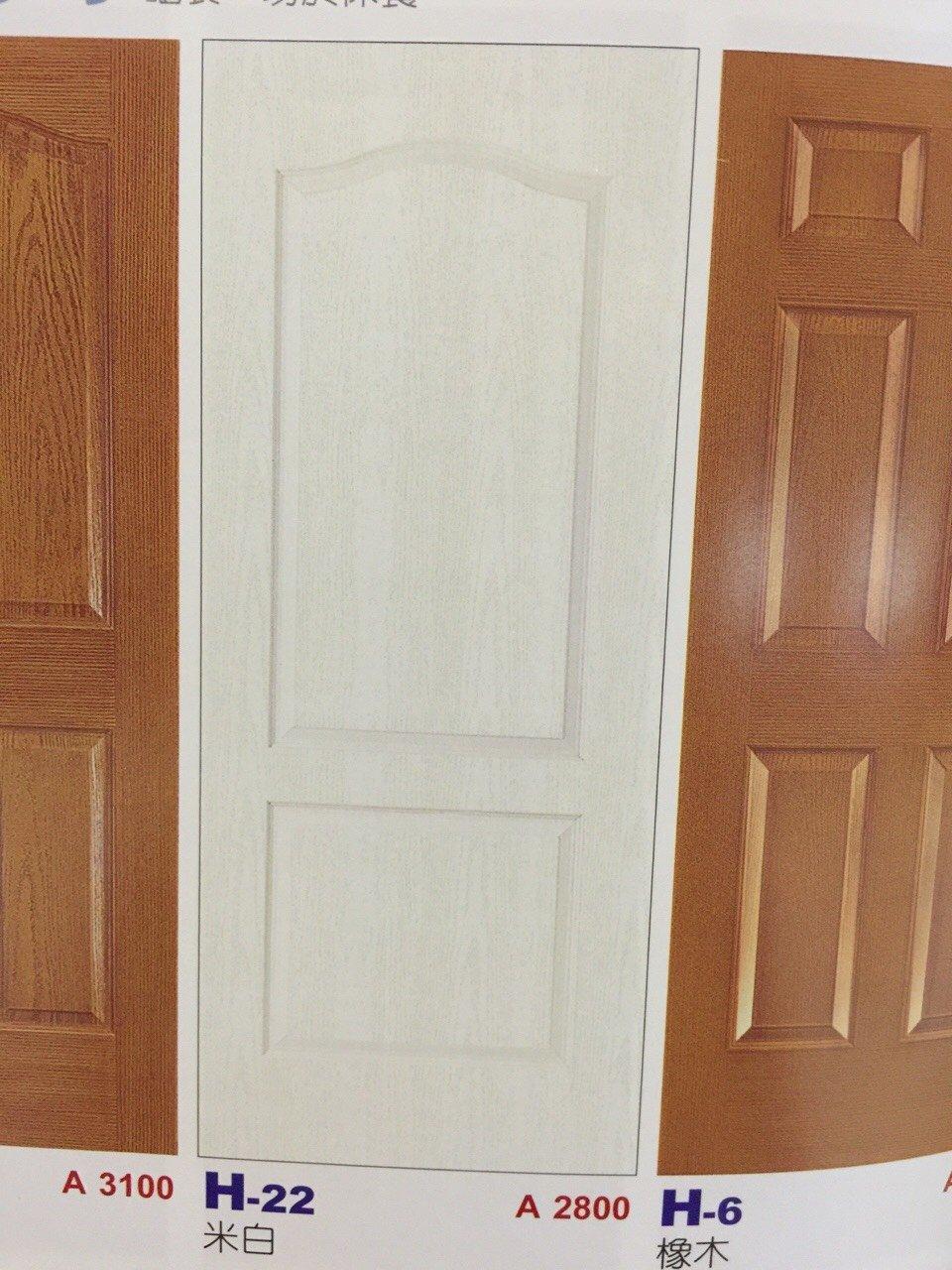 《美宅網》 木門  房間門 門板 門片 工廠直營H-22 米白 木纖門系列