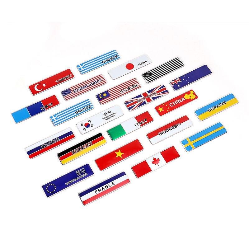 國旗 隨意車貼 車貼 遮刮痕 德國 義大利  美國 加拿大 韓國 法國 車身貼紙 貼紙 機車貼 汽車貼 文具用品