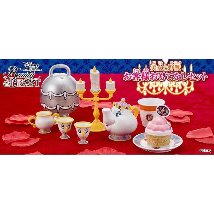 台中玩具部落客 現貨 轉蛋 美女與野獸 扭蛋 迪士尼 阿奇杯 燭台 茶壺媽媽 糖罐 公仔 挑款區