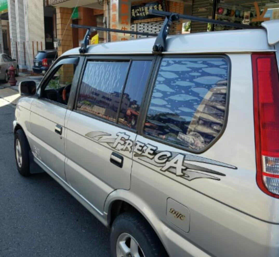 三菱福利卡 Freerca 箱型車 車頂架旅行架 橫桿 得力卡  新舊瑞獅 百利 多猛哥 載卡多 福滿多 PRZ space gear 等上述車種均可適用