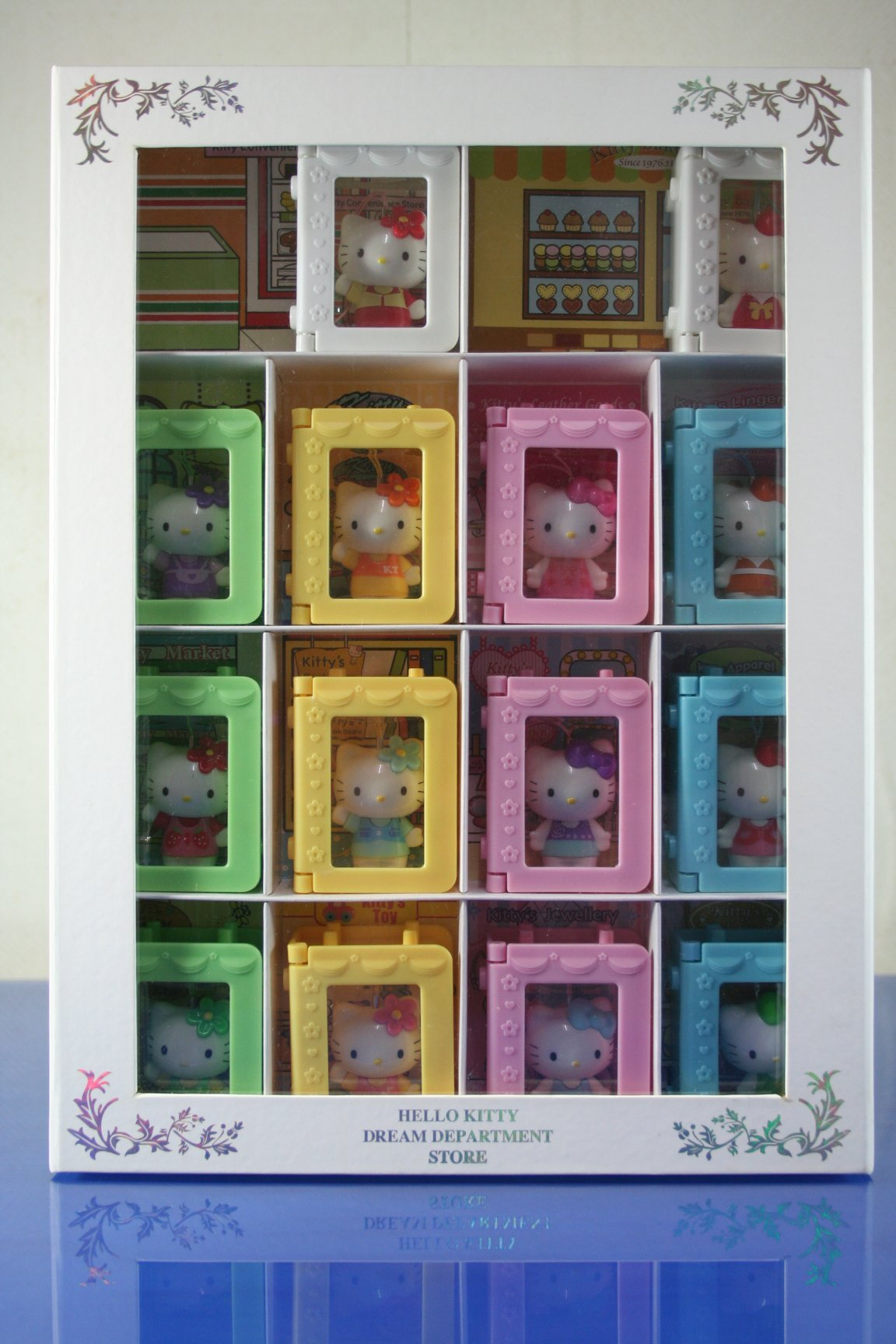 //Dream 翔// 現貨 全新已拆 7-11 Hello Kitty 夢幻百貨系列公仔 12+2款 一套