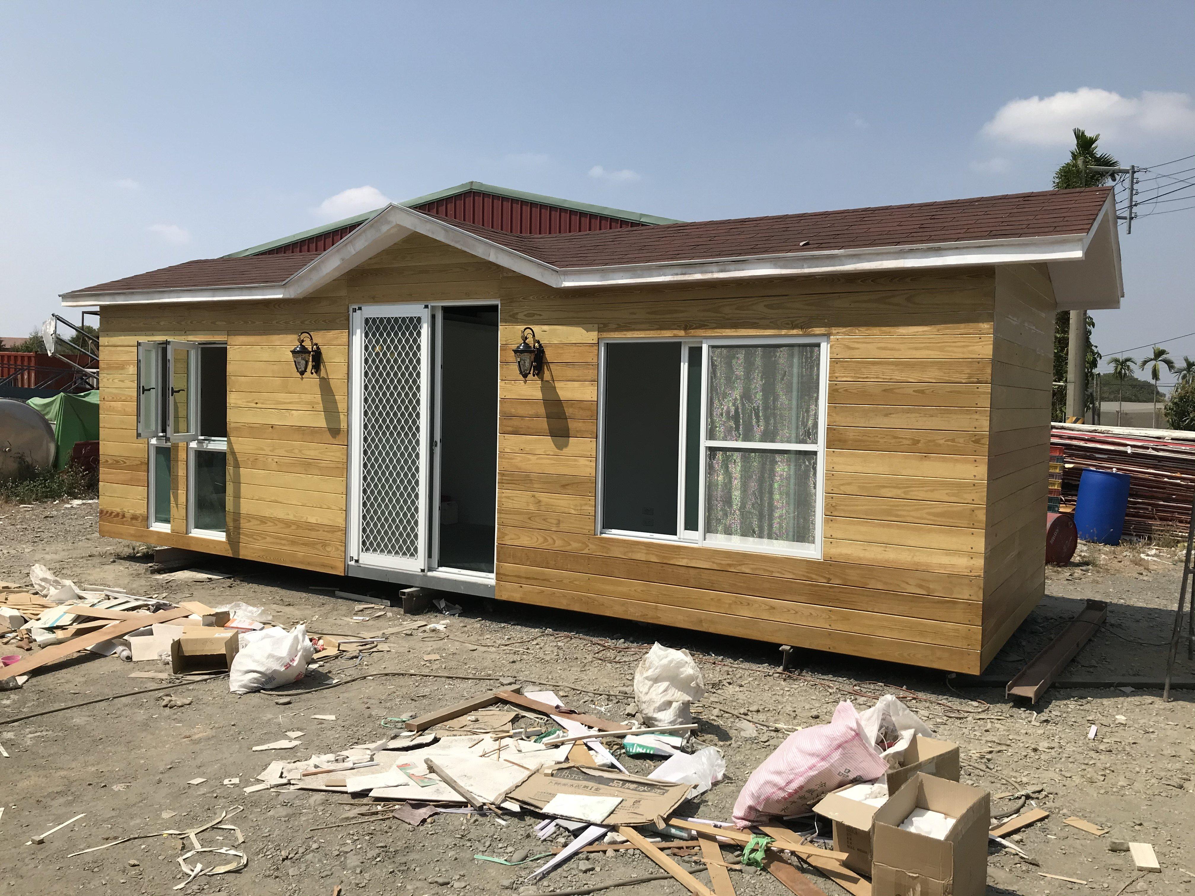 [行動城堡]非貨櫃屋-全新完工 移動鋼構小木屋 休閒屋 渡假屋 環保屋 組合屋 綠建築 農舍 個人工作室 民宿套房 儲藏