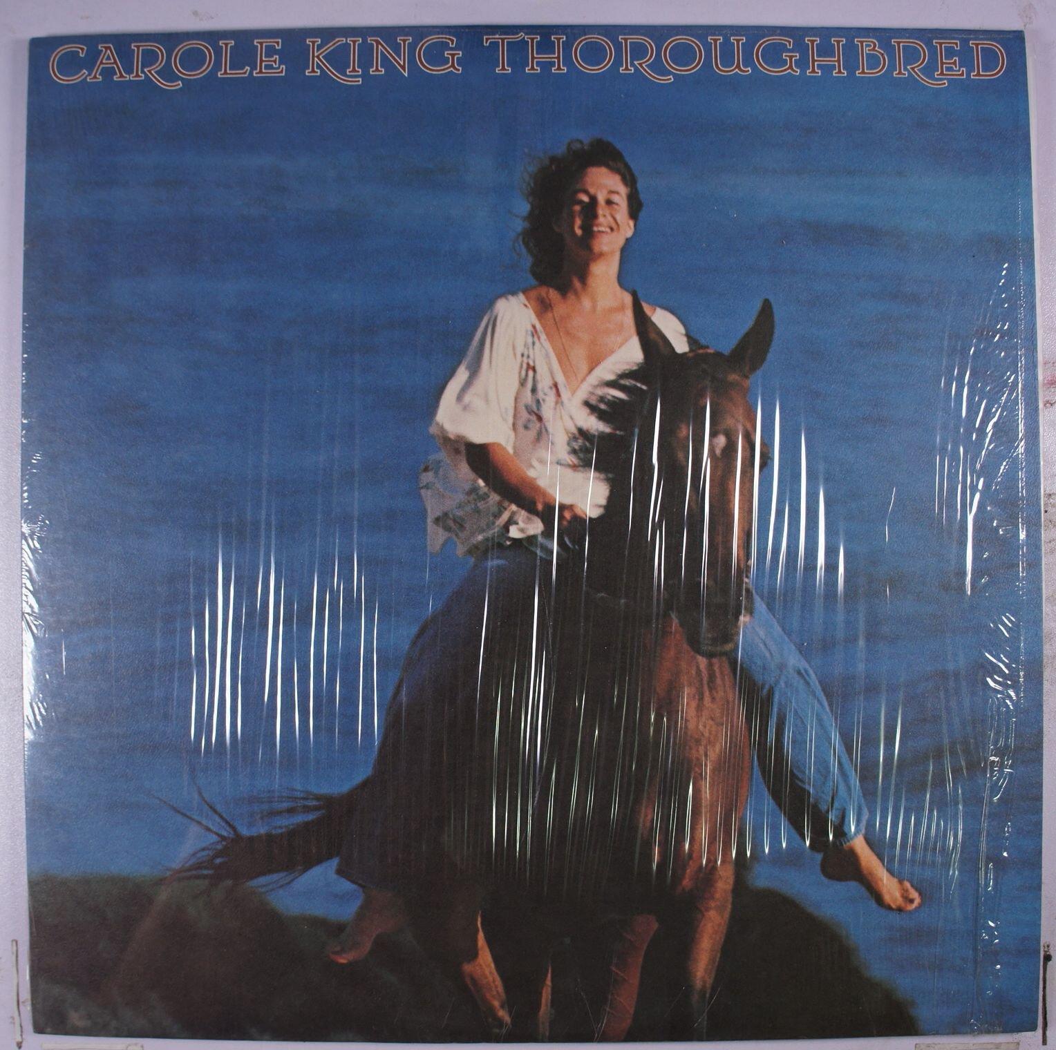 《二手美版黑膠》Carole King – Thoroughbred