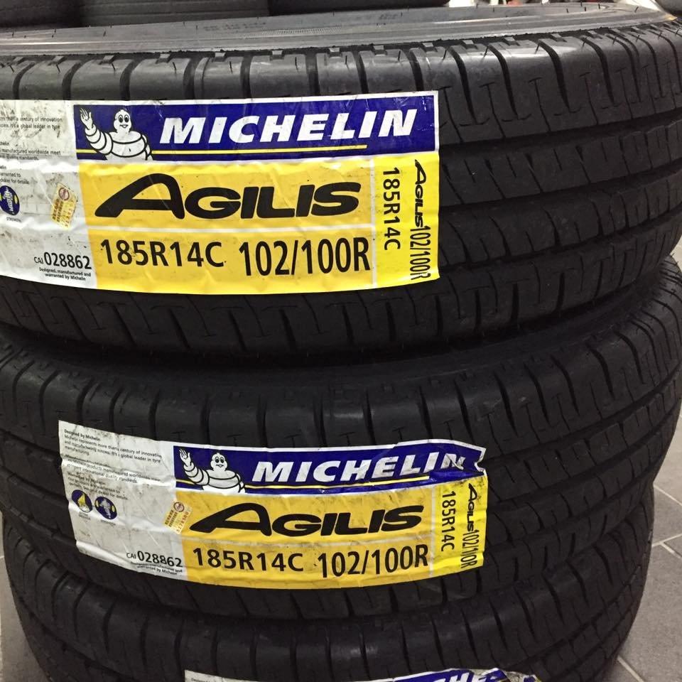 【優質輪胎】米其林AGILIS全新貨車胎_185R14C(185-R14C得利卡Freeca R600 UE168)三重