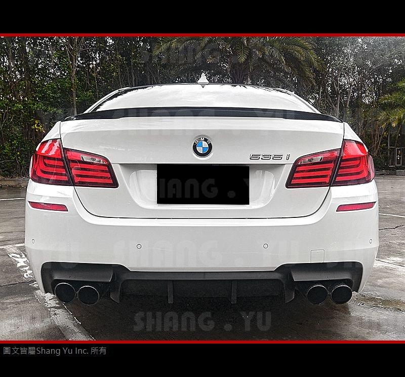 BMW F10 F11 後下巴 後擾流板 空力套件 523 530 535 550 M5