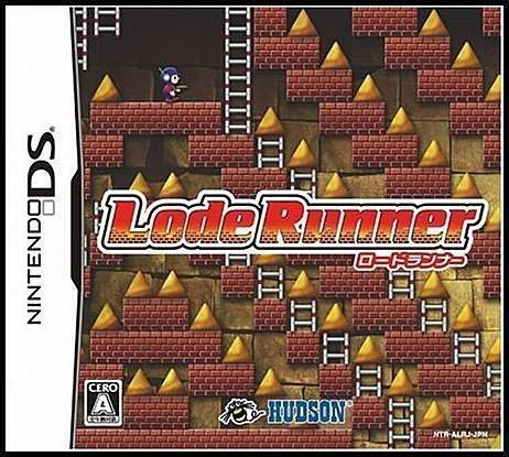 NDS 全新日版【挖金塊】【Lode Runner】