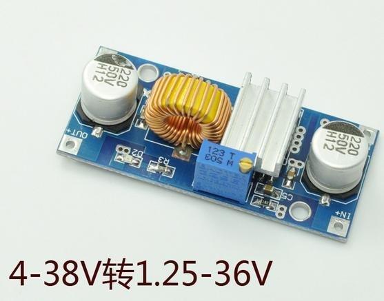 大功率 DC-DC直流降壓模組 可調電壓12v轉9v 5V 3A 5A降壓器 W83 [73545]