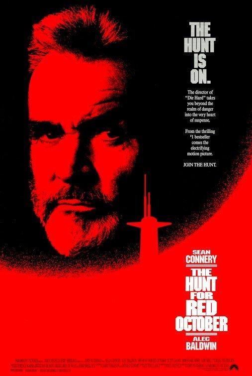 獵殺紅色十月-The Hunt For Red October (1990) 電影海報
