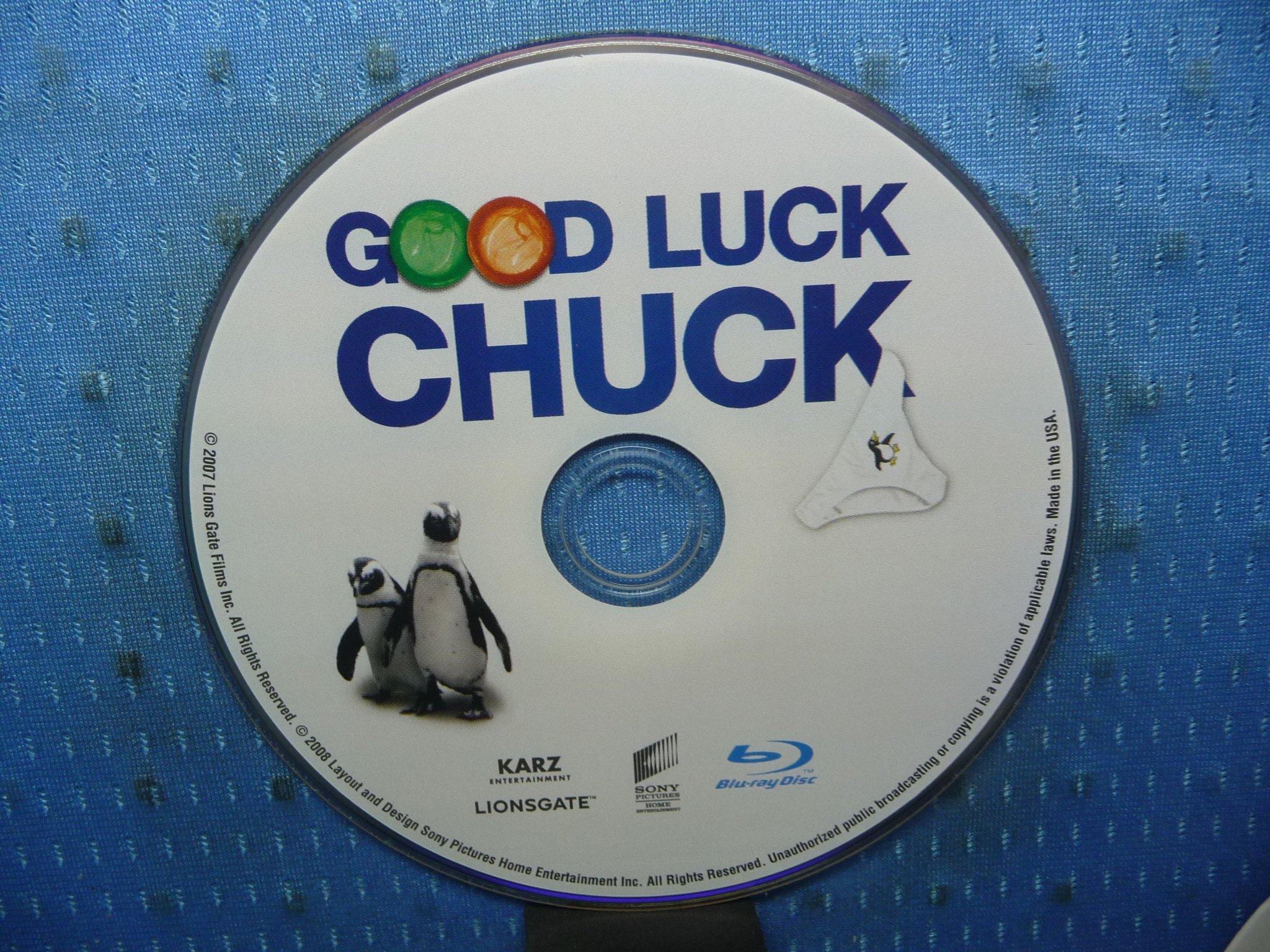 [無殼光碟]KV  GOOD LUCK CHUCK  倒數第二個男朋友 藍光光碟電影 1片裝
