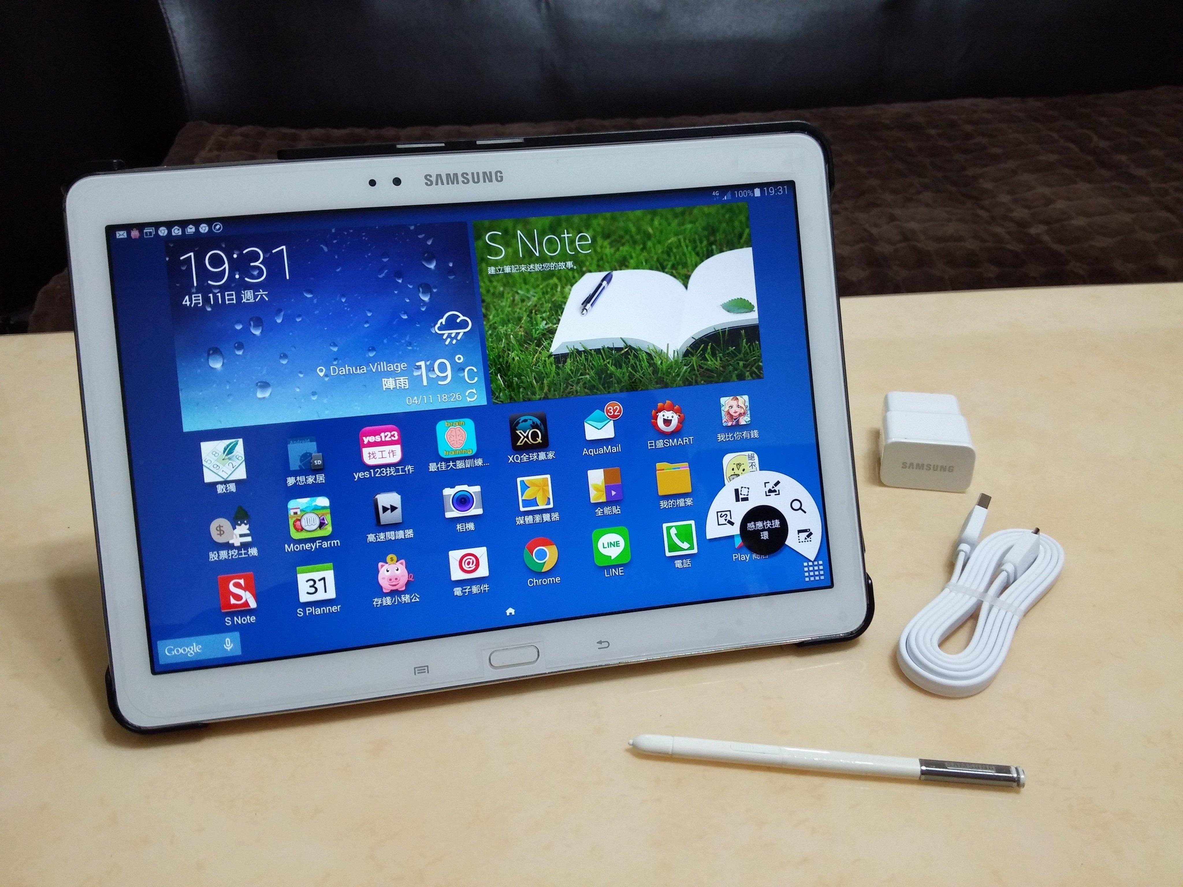 (4G LTE)可打電話, 三星10吋高階平板, SM P605特別版, 高解析,S-PEN筆較厲害!