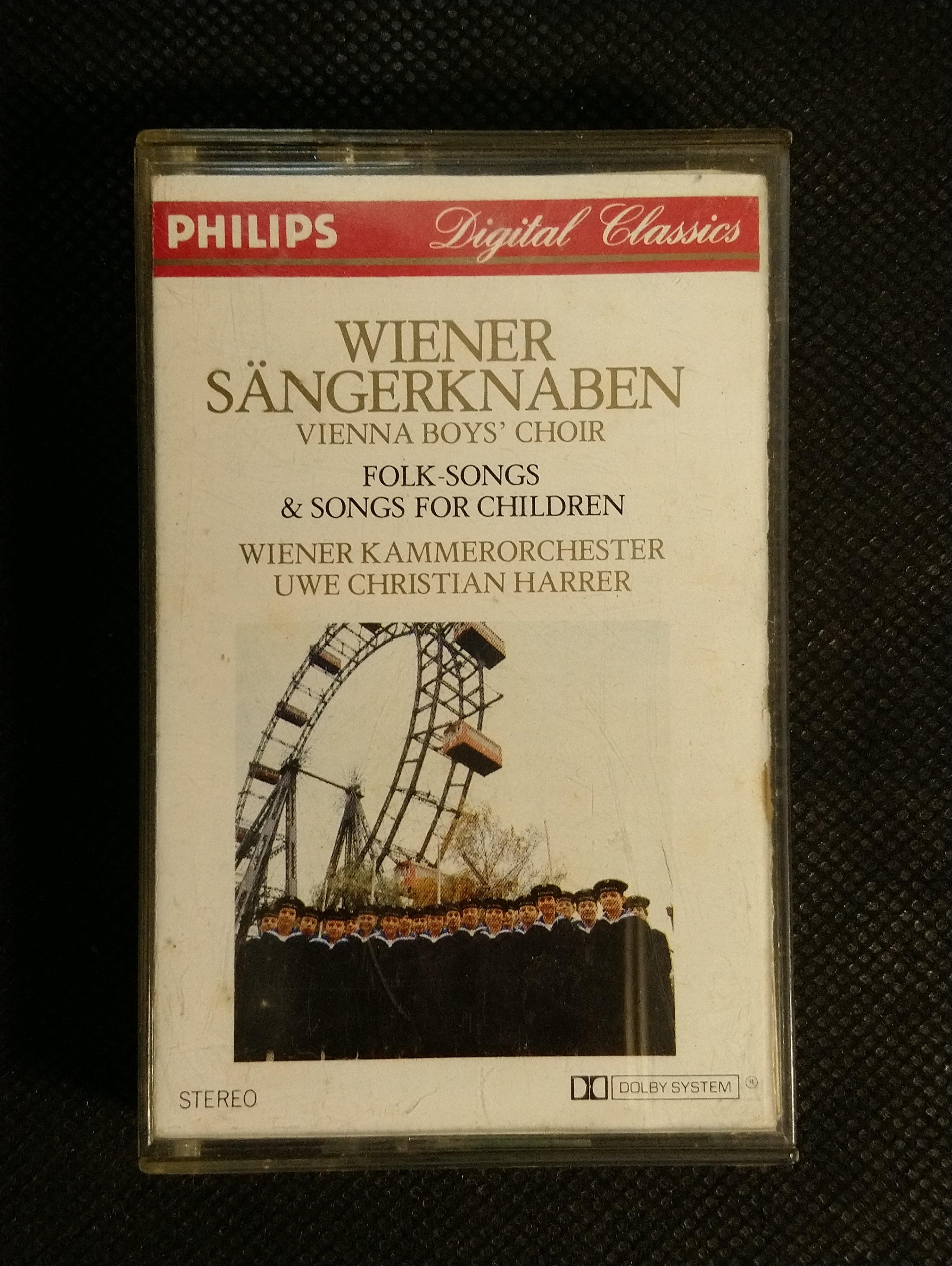 錄音帶/卡帶/IC47/演奏/Wiener Sängerknaben Volks- und Kinderlieder/維也納少年合唱團/非CD非黑膠