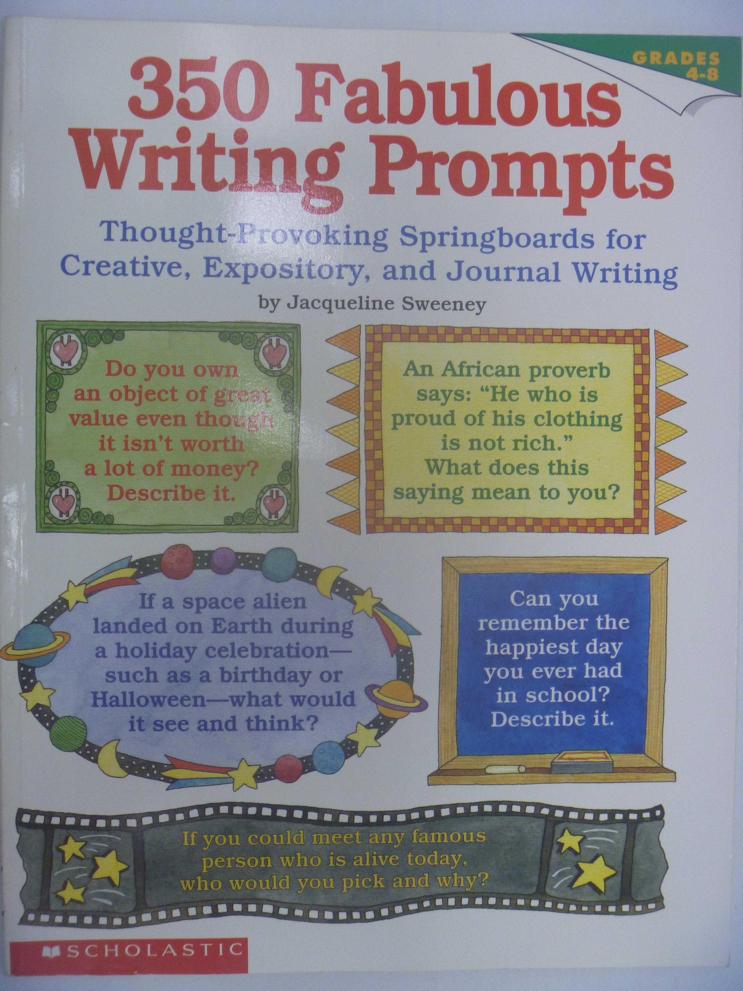 【月界】350 Fabulous Writing Prompts_Jacqueli Sweeney 〖少年童書〗CER