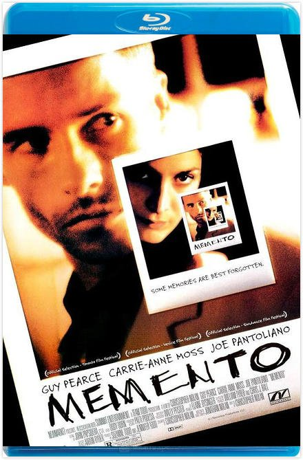 記憶拼圖  失憶  記憶碎片 MEMENTO (2000) 雙T珍藏版 帶國配