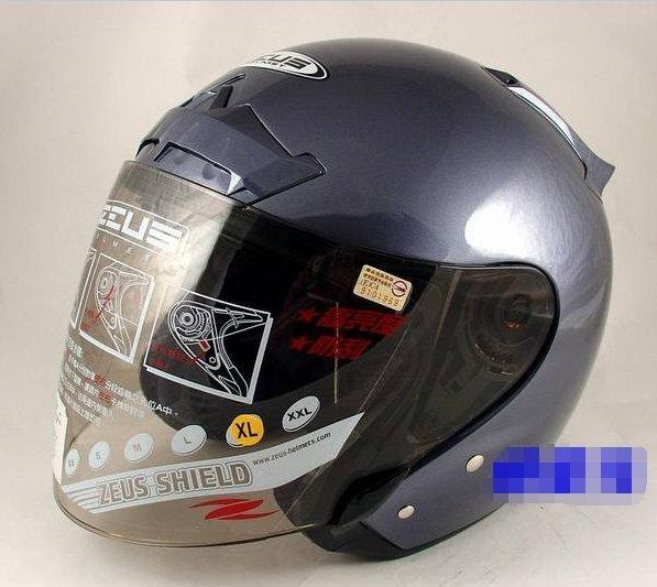 ZEUS瑞獅安全帽~ZS-609~(內襯全可拆洗)~新鐵灰~特價1000元