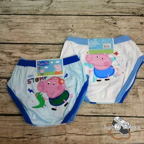 全新 台製 MIT 男童內著/內褲/三角褲 Peppa Pig 粉紅豬小妹 佩佩 喬治