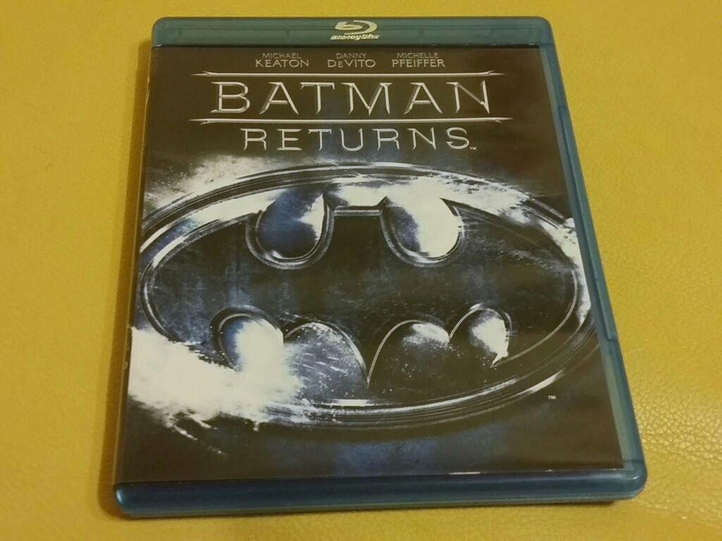 (台版全新僅拆,藍光BD)蝙蝠俠大顯神威Batman Returns,麥可基頓,蜜雪兒菲佛主演,提姆波頓導演