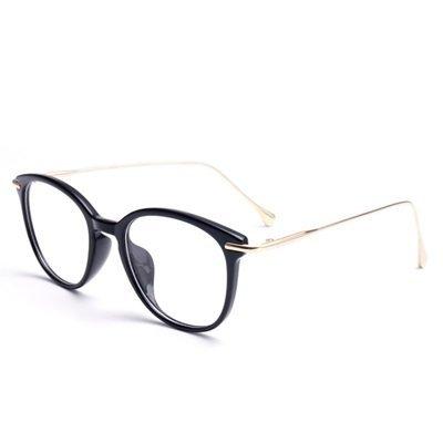 眼鏡 框 全框 鏡架-韓版時尚氣質百搭男女平光眼鏡9色73oe21[獨家進口][米蘭精品]