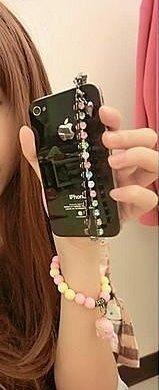 緣份館㊣【專利設計.繽紛彩鑽手機防塵塞HTCI三星IPAD IPHONE4S 5/5S】水鑽可直購.二一 一元起標無底價