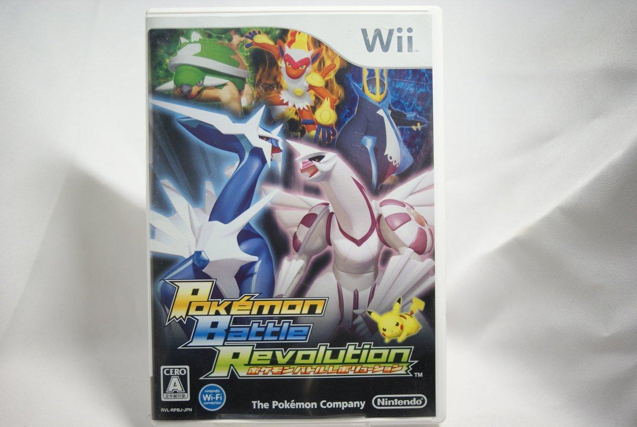 [耀西]二手 純日版 任天堂 Wii 神奇寶貝 精靈寶可夢 戰鬥革命 含稅附發票
