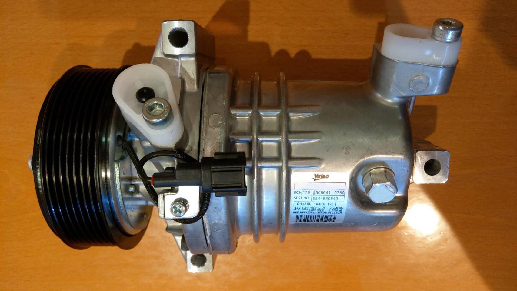 全新 Nissan 日產 Livina / Tiida 1.6 1.8  07-12 冷氣壓縮機 保固2年6萬公里