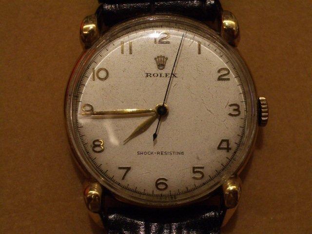 《小丸子の家》 1945年ROLEX勞力士古董錶  蜘蛛腳  18K金  收藏級  蘇富比拍賣等級 誠可議