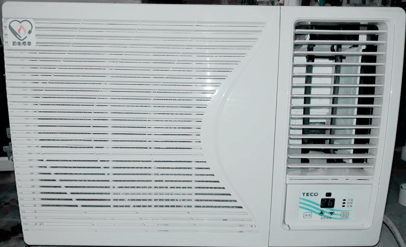 二手冷氣【TECO東元12-14坪用右吹式窗型冷氣】型號:MW63FR3/2.5噸/免運費/安裝費另計