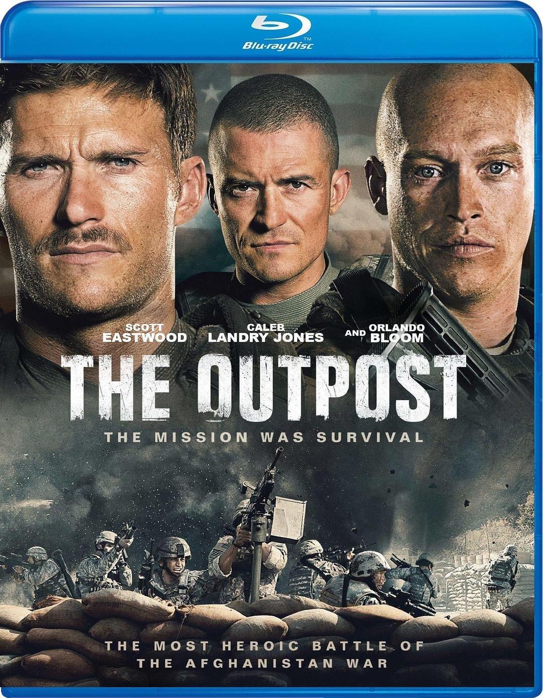 【藍光影片】72小時前哨救援 / 前哨 / The Outpost(2020)
