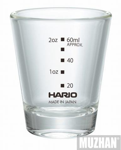 【沐湛咖啡】HARIO SGS-80B-EX 咖啡玻璃杯 耐熱玻璃 濃縮杯 80ml 製