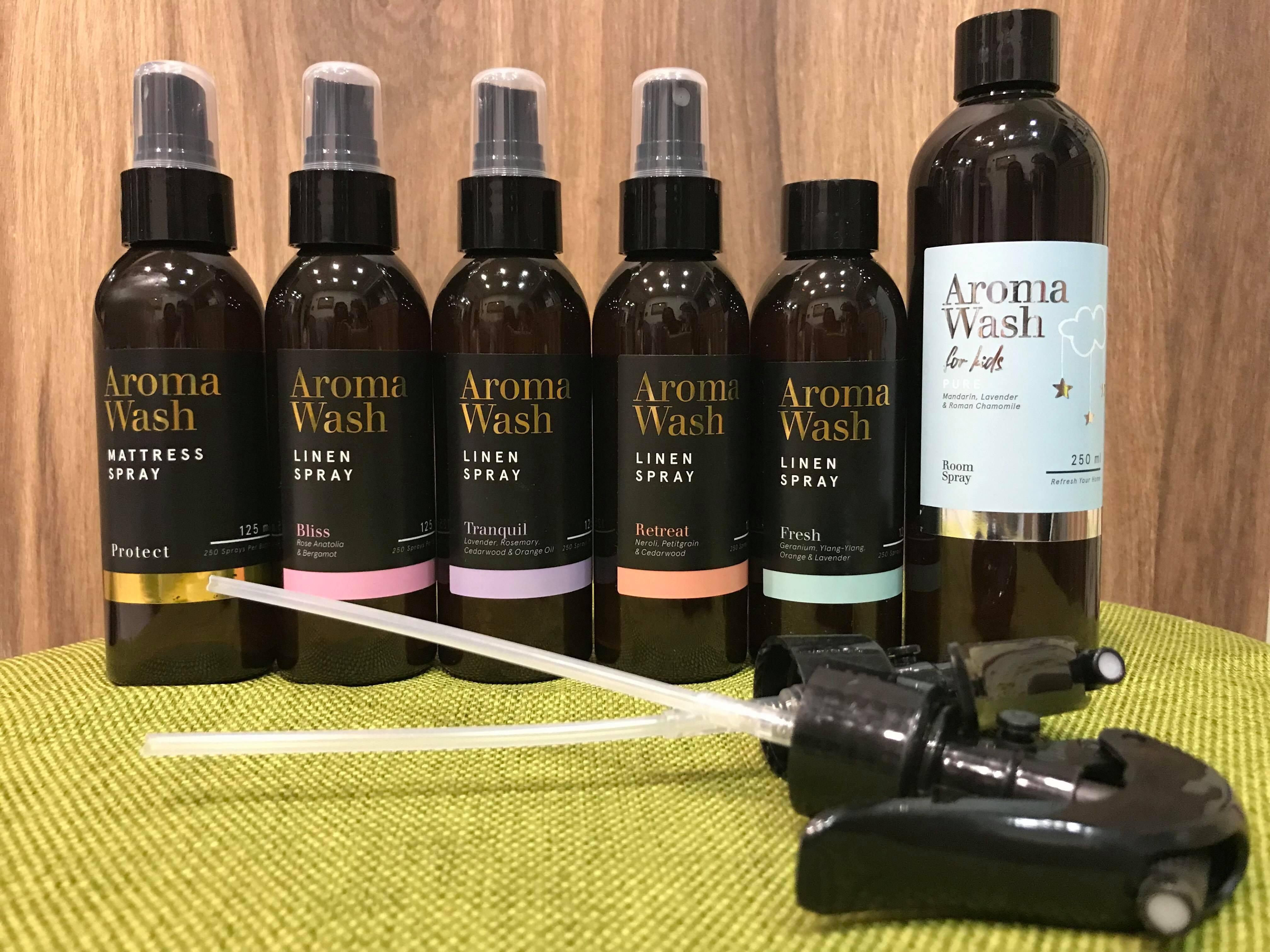 【澳洲Adairs】現貨不用等! 床墊寢具專用天然精油香氛噴霧Linen Spray125ml 薰衣草/玫瑰/清新/甜橙
