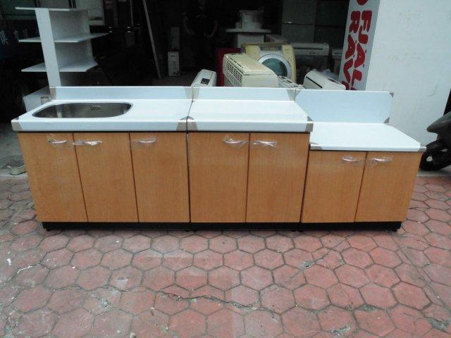全新品  不銹鋼三件式流理台&二手家具台中權威 切菜台 水槽 抽油煙機