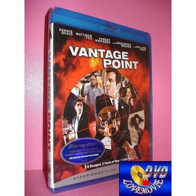 A區Blu-ray藍光正版【刺殺據點Vantage Point (2008)】[含中文字幕]全新未拆《丹尼斯奎德》