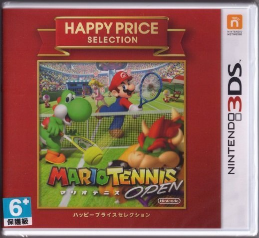 N3DS - 瑪利歐網球 公開賽 日版[亞力士電玩]
