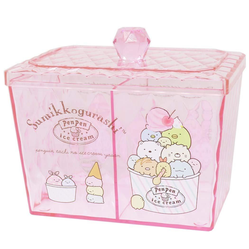 X射線【C481803】角落生物 Sumikko Gurashi 透明小物收納罐,置物櫃 收納櫃 收納盒 抽屜收納盒 收