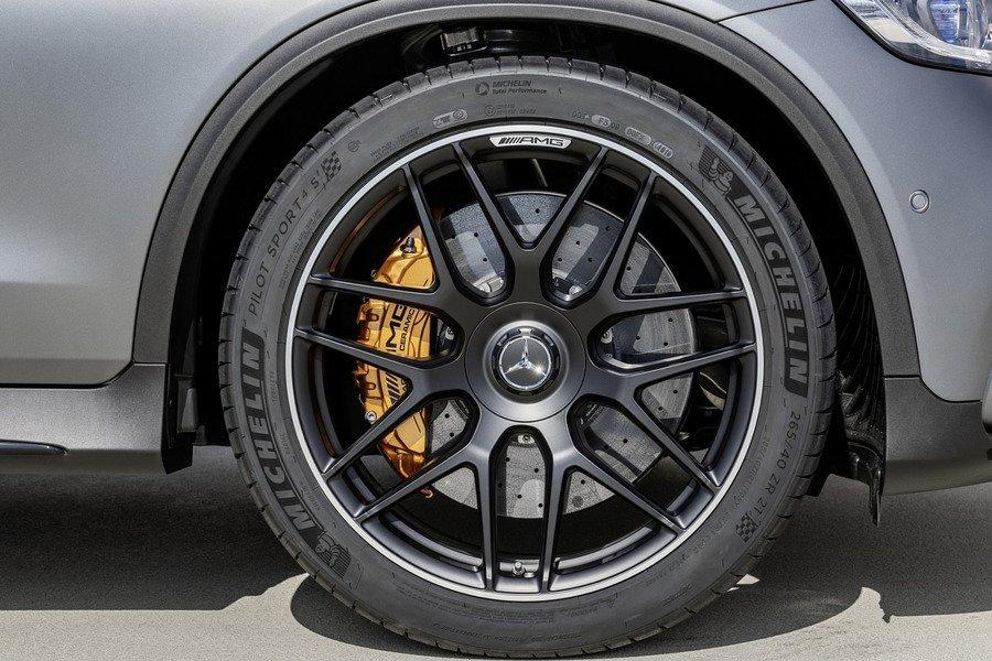 ✽顯閣商行✽Benz 德國原廠 C253/X253 GLC 21吋 鍛造輕量化鋁圈 輪圈 大腳 AMG GLC63 43
