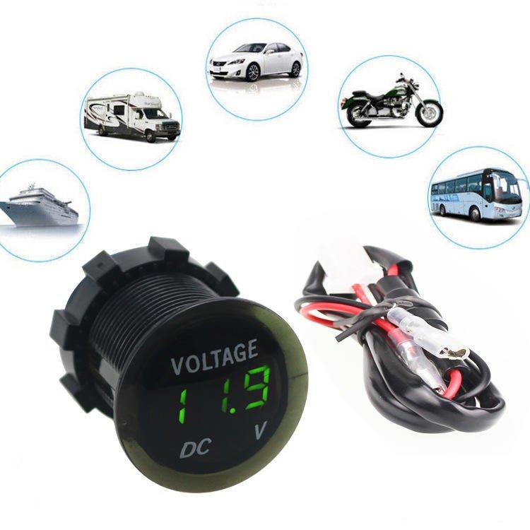 9V~13V電壓檢測器 電壓錶 直流電壓 電壓表 檢測電壓