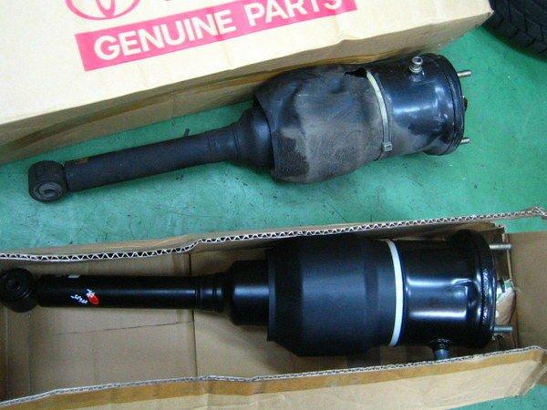日歐汽車《LEXUS LS430 正廠前後 氣壓避震器》完工價 IS200 IS250 ES300 RX300 RX330 LS400 LS460 LS600H