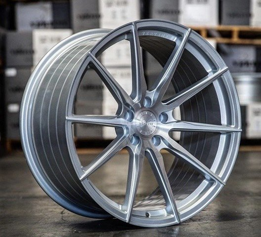 全新 VERTINI RF1.1 經銷 19吋旋壓鋁圈 銀+髮絲面 5/108 5/112 5/120 5/114.3