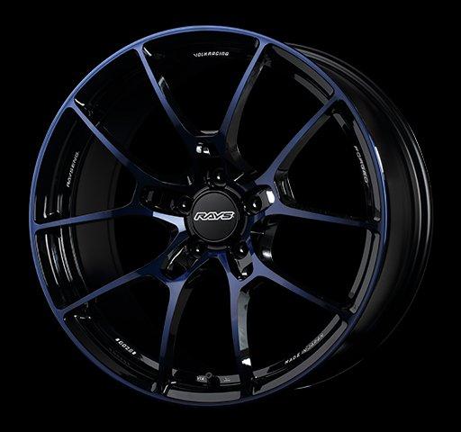 日本 Volk Racing Rays 鍛造 鋁圈 G025 電鍍藍 19吋 112 120 五孔 歐系車