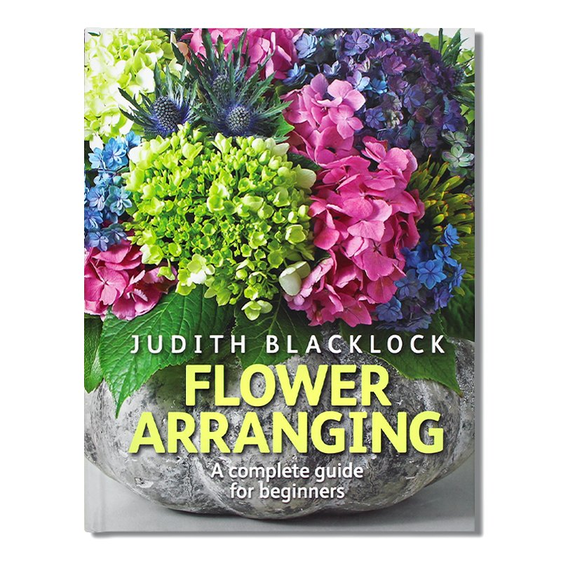 Flower Arranging: The Complete Guide for Beginners 插花藝術 初學者完整指南 花卉藝術設計指南圖書 英文原版