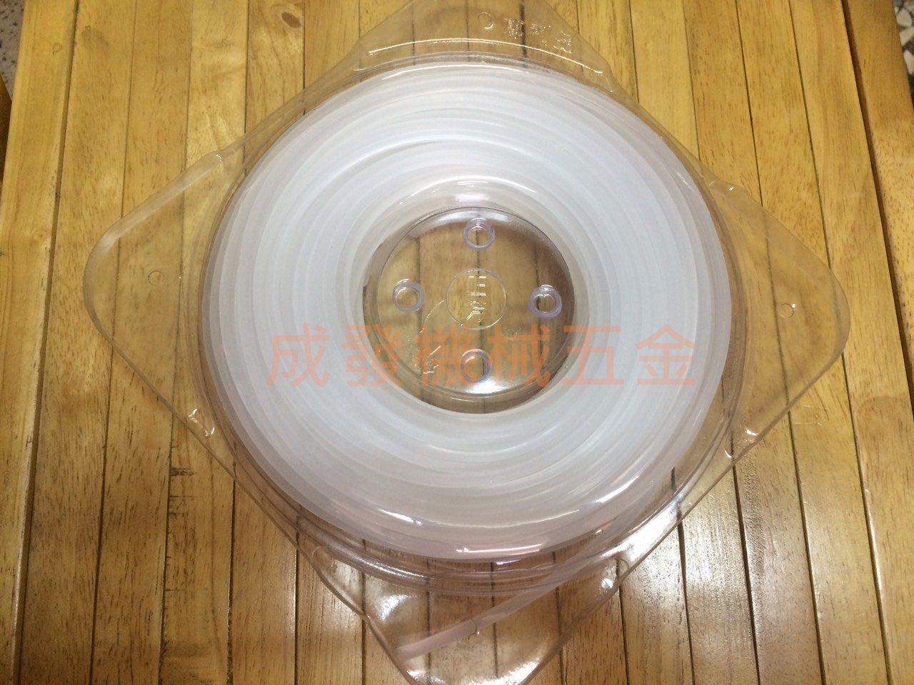 ㊣成發機械 ㊣ 大廠  正芳  製 磅裝足量 塑料 3.2mm 四角 牛筋繩 割草機 牛筋條 刀片 割藤片