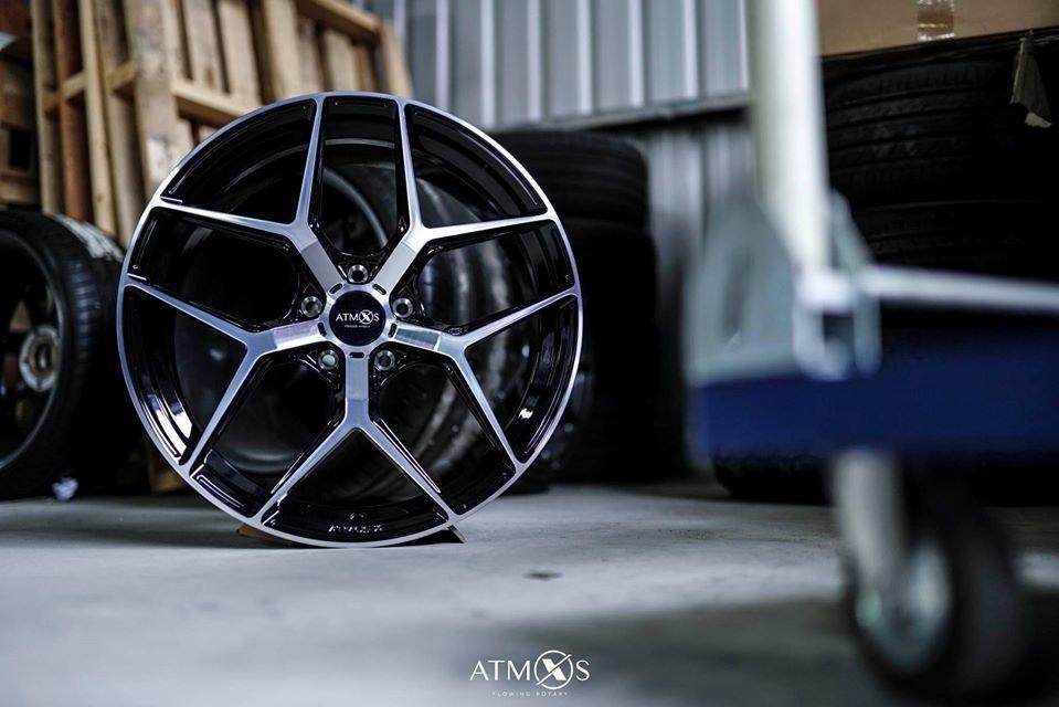 超鑫鋁圈 Atmos X FORGED A103 單片式鍛造 21吋鋁圈 5孔108 5孔112 5孔120 5孔114
