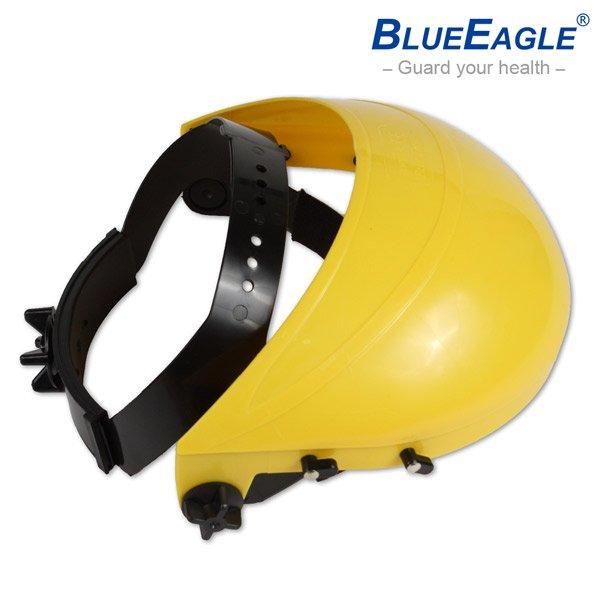 【醫碩科技】藍鷹牌 B-1黃色頭盔 可搭配各種面罩片 防塵/防熱/防衝擊/防強光/防高溫