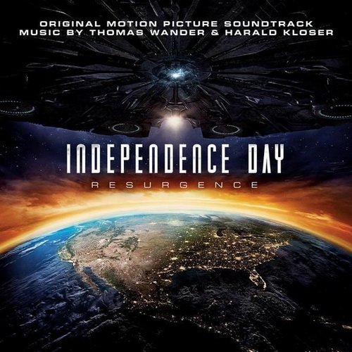 ID4星際重生-電影原聲帶( ) Independence Day: Resurgence---88985329312