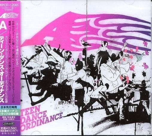 (甲上唱片) A - Teen Dance Ordinance - 日盤+2BONUS