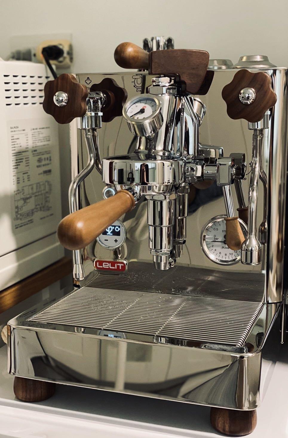 [新款現貨] Lelit bianca PL162T 可變壓 PID 雙鍋爐 半自動義式咖啡機  公司貨現貨1部敬請把握