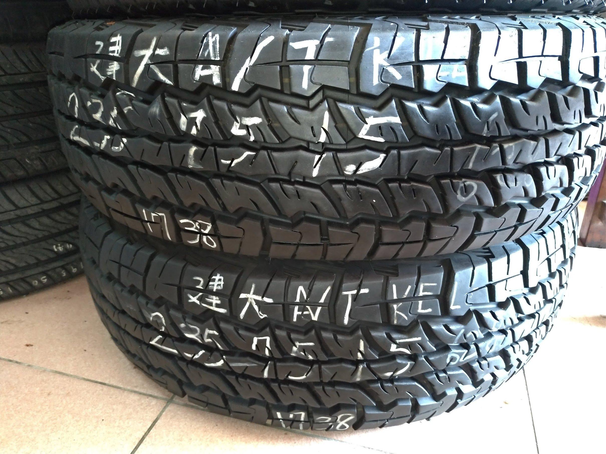 235 75 R 15 17年製造 KENAD 建大輪胎 吉普車 得利卡 吉星 二手 中古 輪 胎 1輪2000元