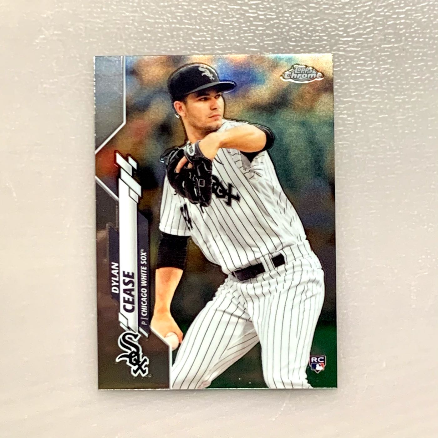 2020 Topps Chrome Dylan Cease RC。芝加哥白襪