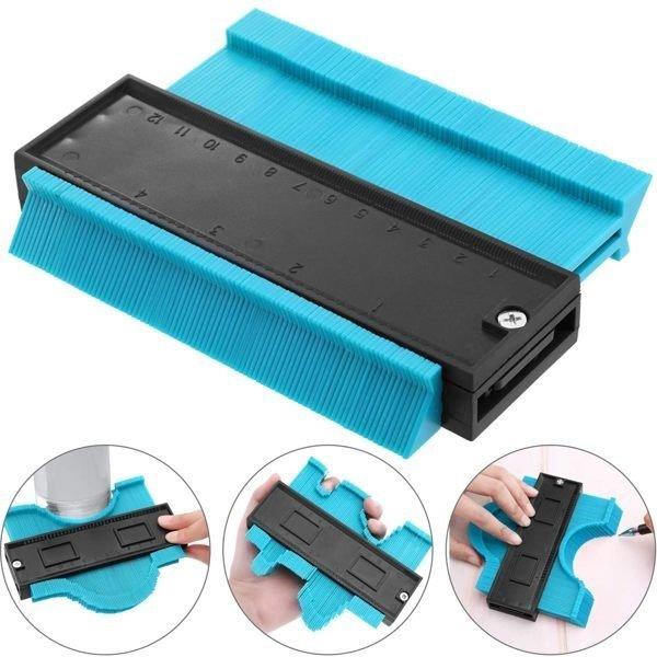 輪廓測量器 取型器 SL1500 弧度尺 量規 不規則儀 製圖 木工工具 (購潮8)