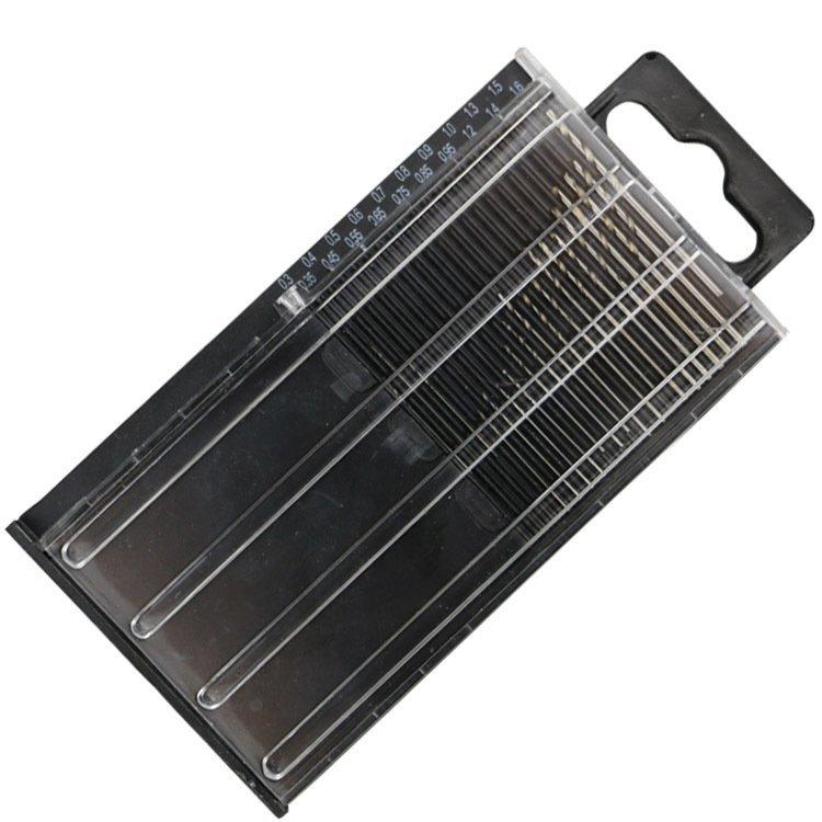 迷你 微型 鑽頭組 HSS 20支裝 0.3mm-1.6mm 木工 電子 鑽尾